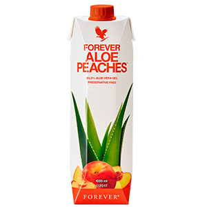 Forever Aloe Bits And Peaches - Forever Living Products