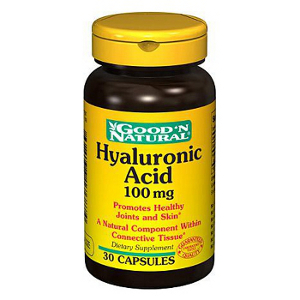 Hyaluronic Acid 100mg - Ácido Hialurónico - Good and Natural descontinuado
