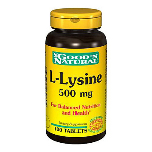 L-Lysine 500mg - Good and Natural descontinuado