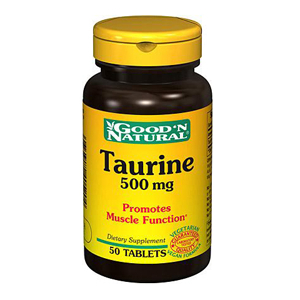 Taurine 500mg - Good and Natural descontinuado