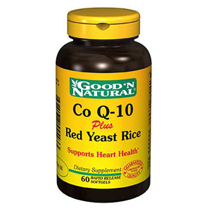 Co Q-10 60mg and red yeast rice 600mg - Good and Natural descontinuado