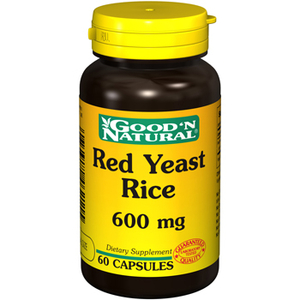 Red Yeast Rice 600 mg - Good and Natural descontinuado