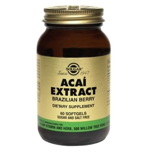 Acai Extract (Brazilian Berry) - Solgar