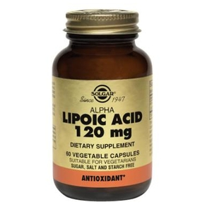 Alpha Lipoic Acid 120mg - Solgar