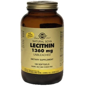 Lecithin (Lecitina)  1360mg - Solgar