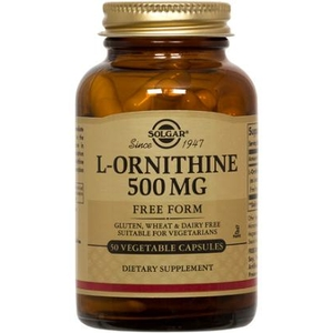 L-Ornithine 500mg - Solgar