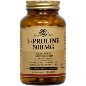 L-Proline 500mg - Solgar