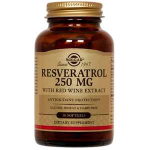 Resveratrol 250mg With Red Wine Extract - Solgar