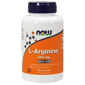 L-Arginine 500mg - Now Foods