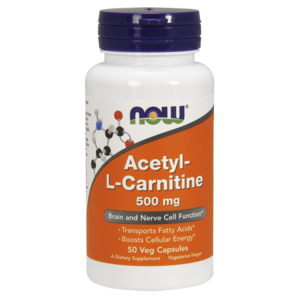 Acetyl-L-Carnitine 500 Mg - Now Foods