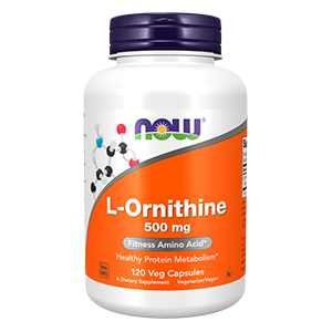 L- Ornitina (L-Ornithine) 500mg - Now Foods