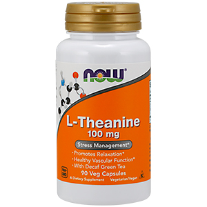 L-Theanine 100mg - Now Foods