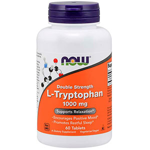 L-Tryptophan Double Strenght 1000 Mg - Now Foods