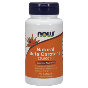 Beta Carotene Natural 25.000u.I. - Now Foods