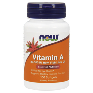 Vitamina A 25.000ui - Now Foods
