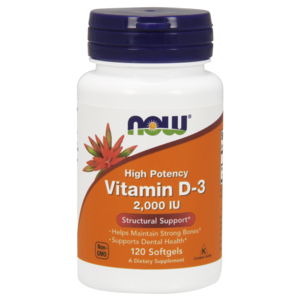 Vitamina D-3 2000ui - Now Foods
