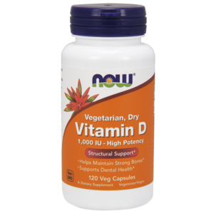 Vitamina D  1000ui - Now Foods