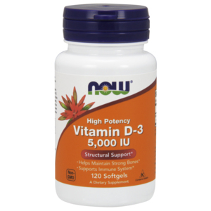 Vitamina D-3 5000ui - Now Foods