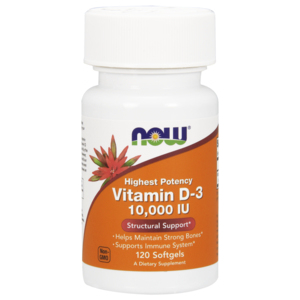 Vitamina D3 10.000ui - Now Foods