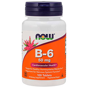 Vitamina B-6 50mg - Now Foods