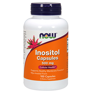 Inositol 500mg - Now Foods