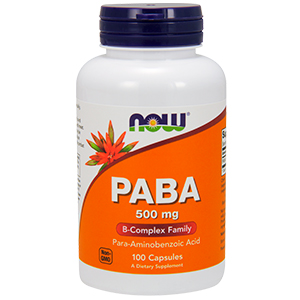 Paba 500mg B-Complex Family - Now Foods