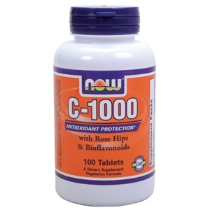 Vitamin C-1000 Rose Hips - Now Foods