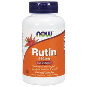 Rutin 450mg - Now Foods