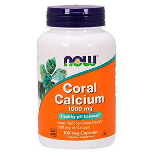 Coral Calcium 1000mg - Now Foods