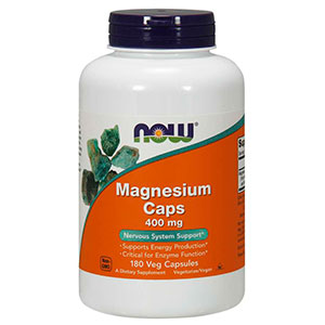 Magnesium 400 Mg - Now Foods