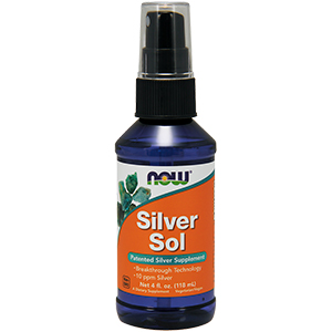 Silver Sol 10 Ppm Liquido - Now Foods