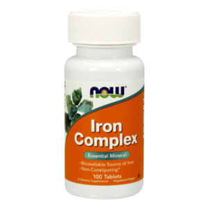 Iron complex 27mg (Ferro) - Now Foods