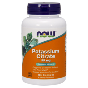 Potassium Citrate - Now Foods