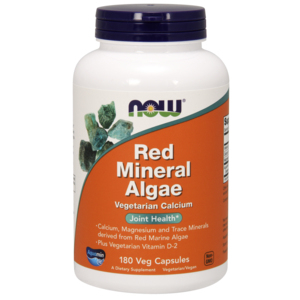 Red Mineral Algae - Now Foods