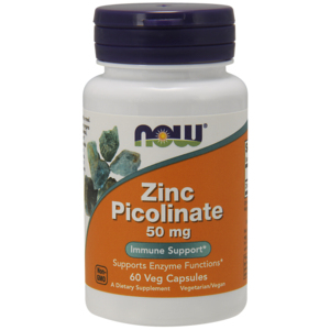 Zinc Picolinate 50 Mg - Now Foods