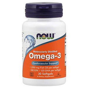 Omega 3 Choles Free 1000mg - Now Foods
