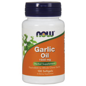 Garlic Oil 1500mg - Now Foods