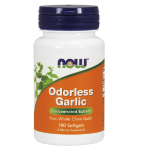 Alho Sem Odor - Odorless Garlic 50 Mg - Now Foods