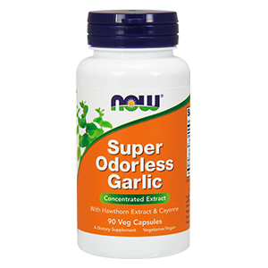 Alho sem odor -  Super Odorless Garlic 4000mg - Now Foods