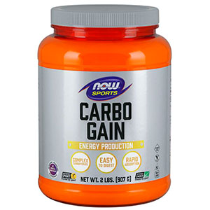 Carbo Gain 100% Complex Carboyidrate - Now Foods