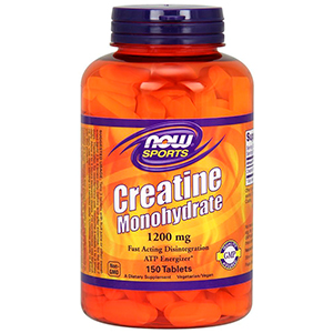 Creatine Monohydrate 1200mg - Now Foods