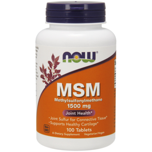 Msm 1500mg - Now Foods
