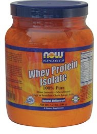 Whey Protein Isolate 5 Lb - Now Foods