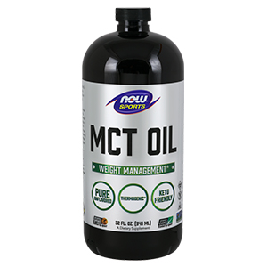 Mct Oil (Medium Chain Triglycerides) - Now Foods