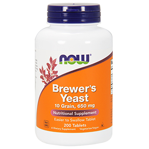 Levedura De Cerveja (Brewers Yeast) 650mg - Now Foods