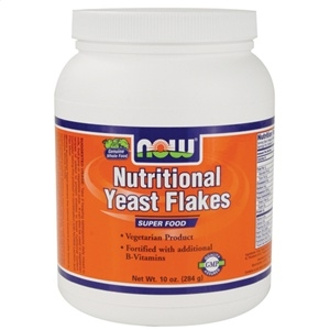 Nutritional Yeast Flakes - Flocos - Now Foods