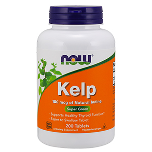Kelp 150mcg - Now Foods