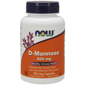 D-Mannose 500mg - Now Foods