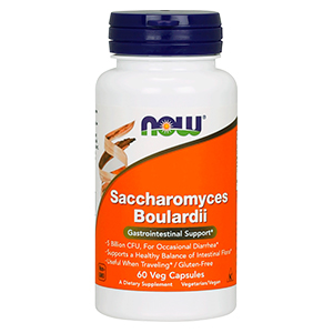 Saccharomyces Boulardii (5 Biliões) - Now Foods