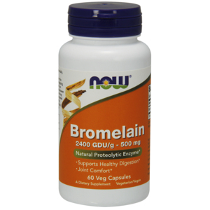 Bromelain 500mg - Now Foods